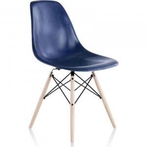 vitra eames fiberglass side chair