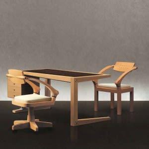 Zeno Writing desk cm 200-Desk-Giorgetti-Massimo Scolari