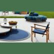 doron hotel poltroncina outdoor cassina set