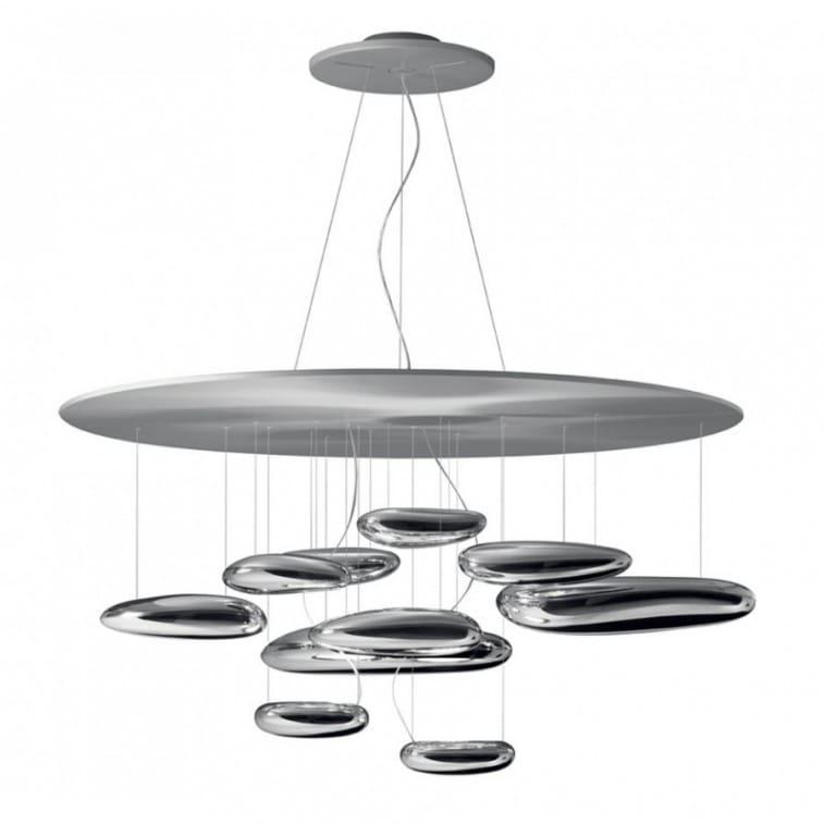 artemide mercury suspension lamp