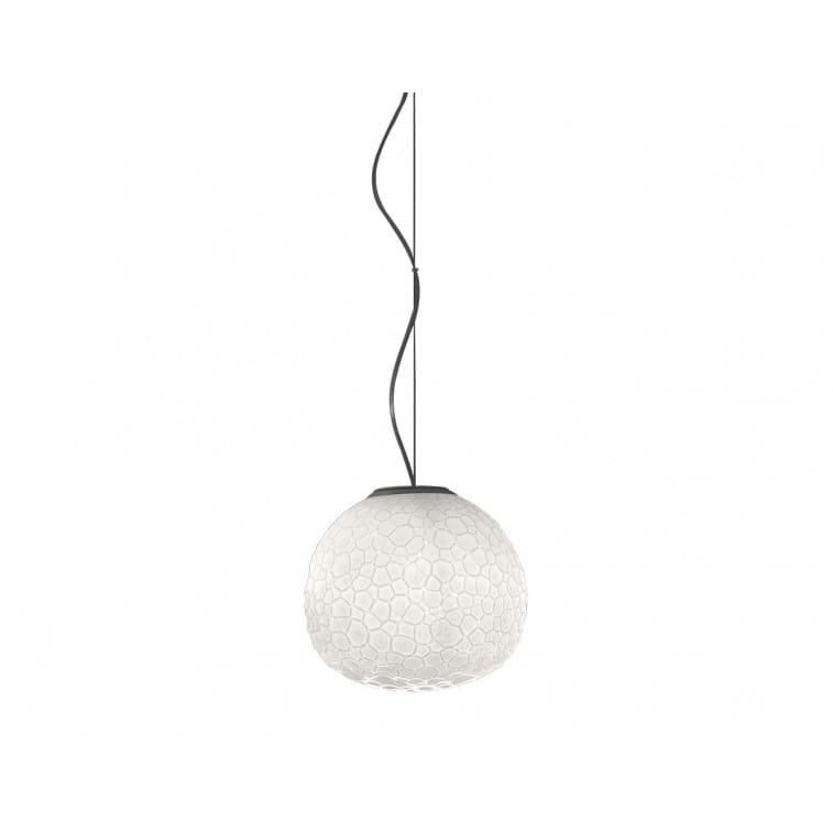 artemide meteorite suspension lamp