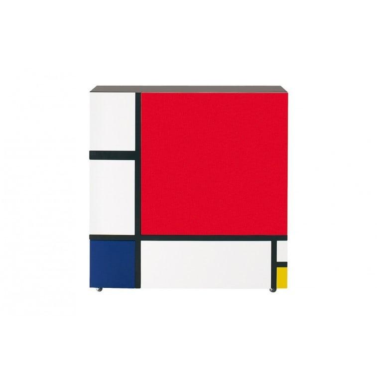 Homage to Mondrian armadietto cappellini PC_18