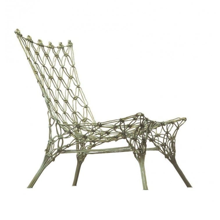 knotted chair poltrona cappellini