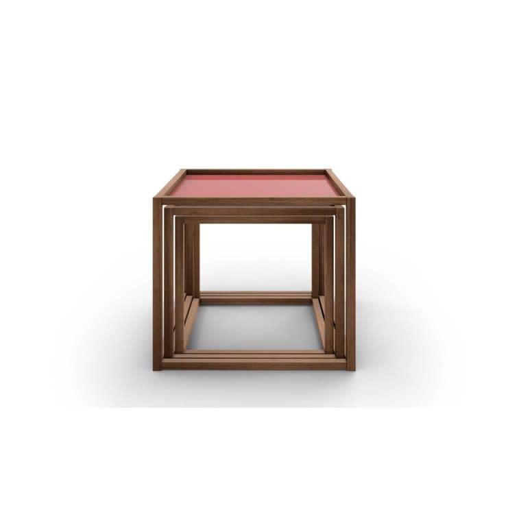 set di tre tavolini Nest of Tables Cassina