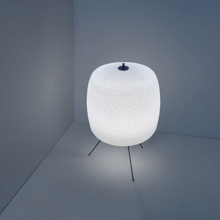 Lampada Shoji Floor-Davide Groppi