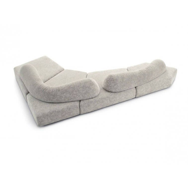 divano edra on the rocks white sofa
