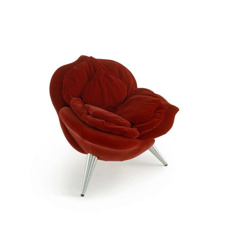 Poltrona Rose Chair di Edra Rossa
