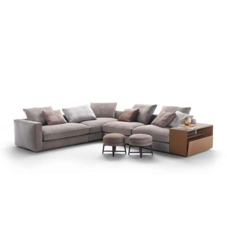 divano Harper Flexform tessuto
