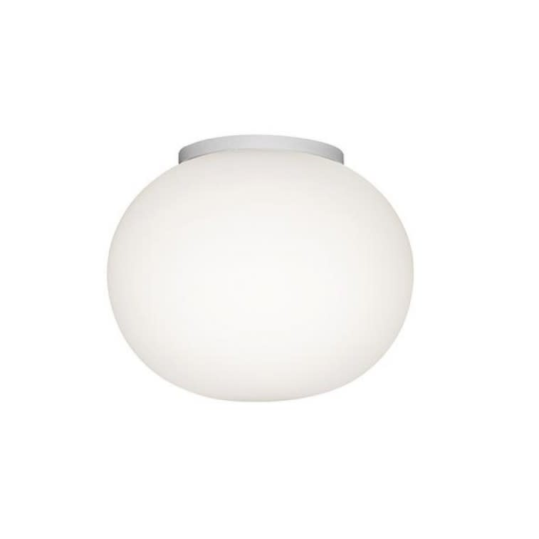 flos mini glo ball cw ceiling wall lamp morrison