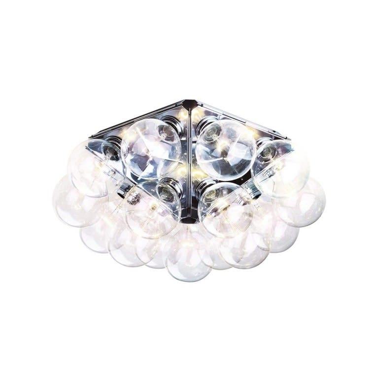 flos taraxacum 88 c/w ceiling wall lamp castiglioni
