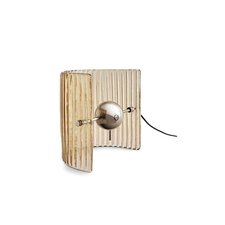 lampada da tavolo Bonfire Gallotti&Radice versione Stripes