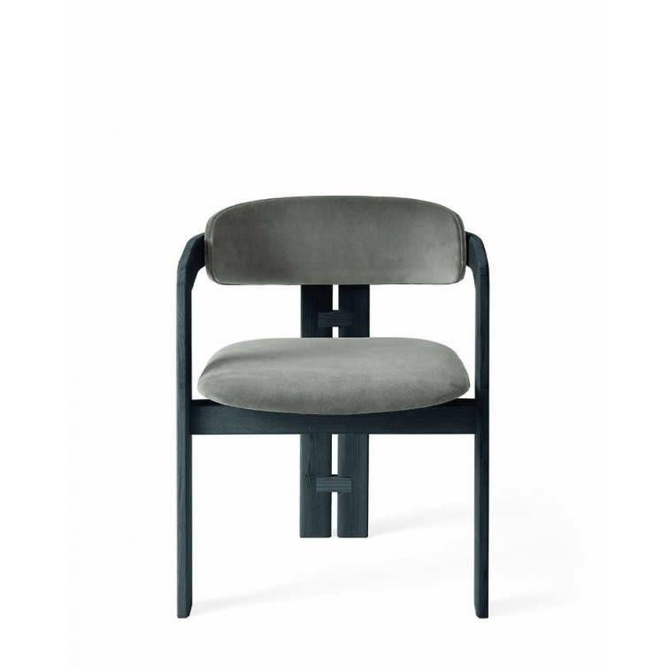 sedia 0414 Gallotti&Radice struttura nera