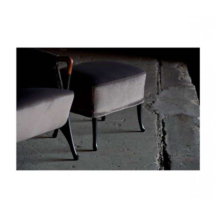 Poltrona Progetti 63350 Pouf in faggio-Giorgetti