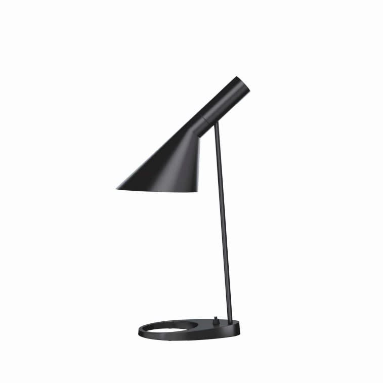 Louis Poulsen AJ lampada tavolo nera