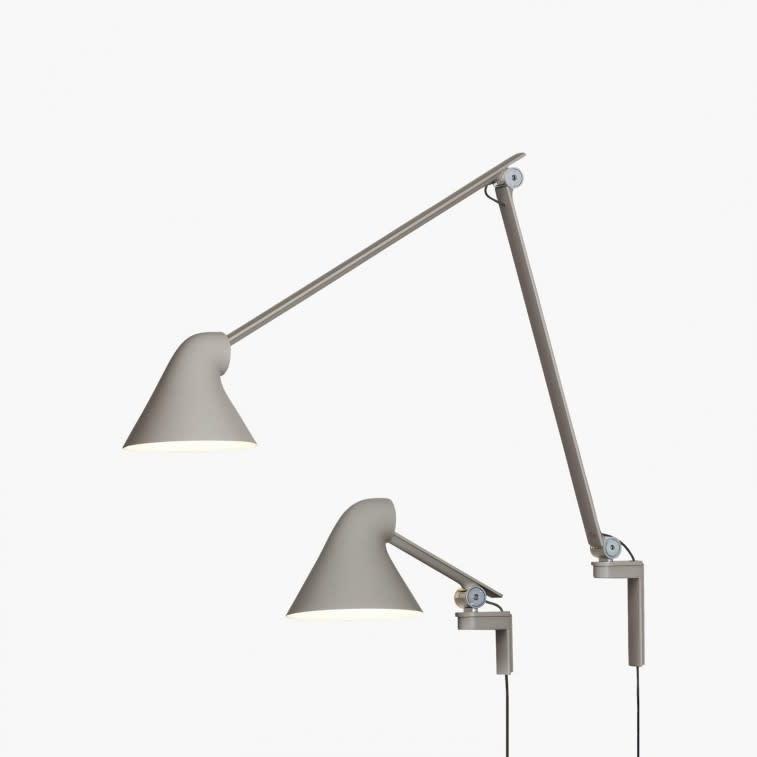 Louis Poulsen Njp wall lamp light grey