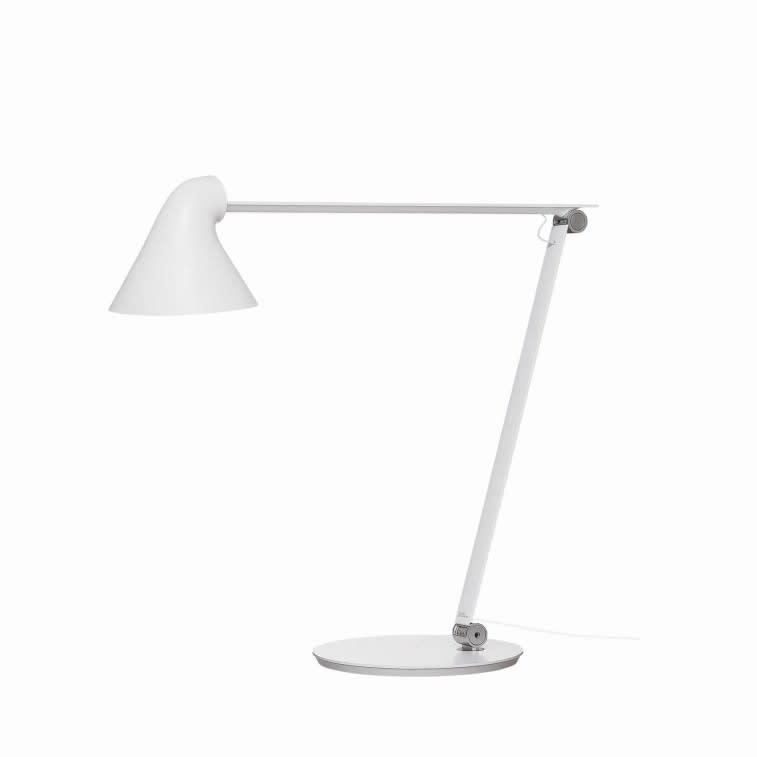 Louis Poulsen NJP lampada tavolo bianca