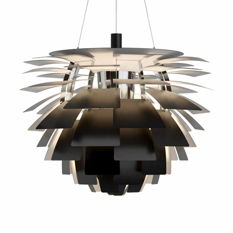 Louis Poulsen PH Artichoke lamp black