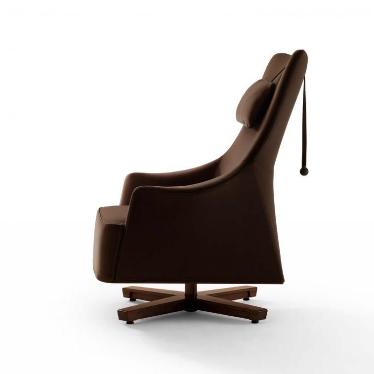Poltrona Mobius Wing chair-Giorgetti