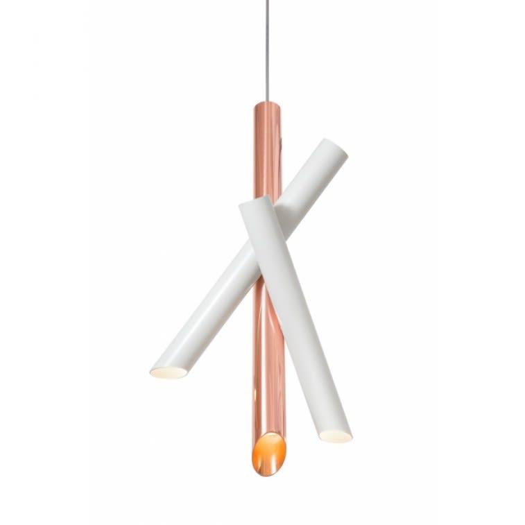 Nemo Tubes 3 Pendant Lamp Charles Kalpakian