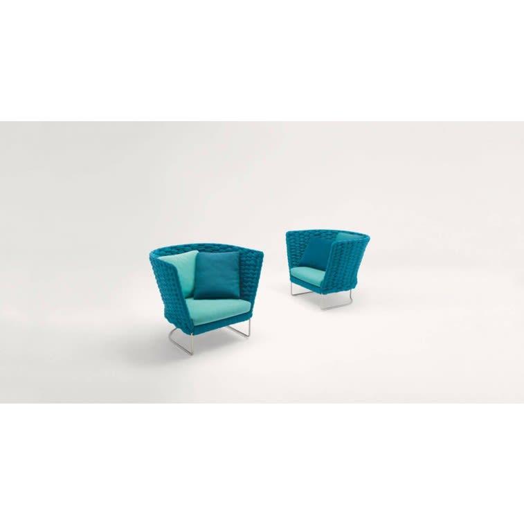 paola lenti ami outdoor armchair