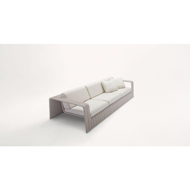 paola lenti frame outdoor sofa