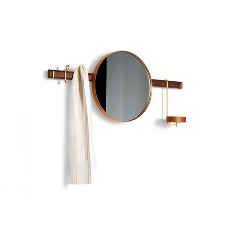 poltrona frau ren wall mirror with hangers