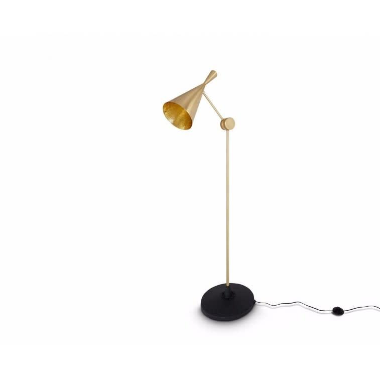 Beat Floor Lamp Brass