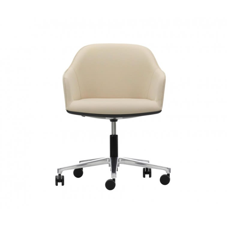 vitra softshell chair castors bouroullec