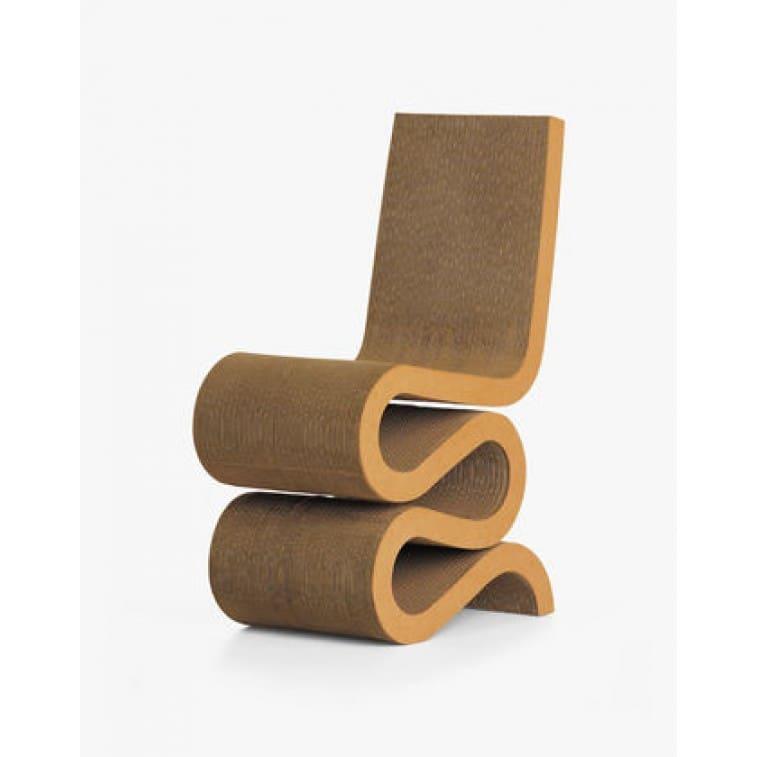 Sedia Wiggle side chair-VItra