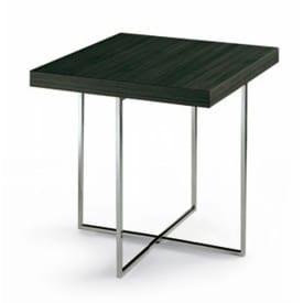 Tavolino Yard Cromato Quadrato-Poliform