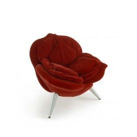 Poltrona Rose Chair di Edra Rossa