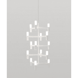 nemo crown multi light pendant white
