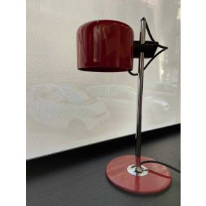 oluce mini coupe table lamp red