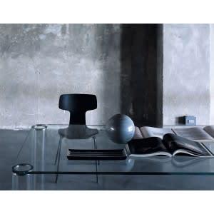 Tavolino Pipeline rettangolare-Glas italia