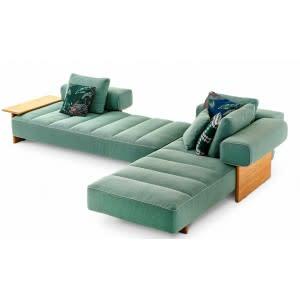 divano-sail-out-cassina-tessuto-verde