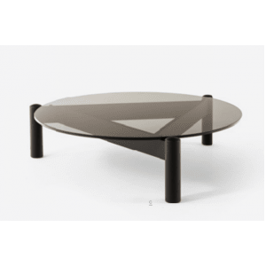tavolino table à plateau interchangeable cassina