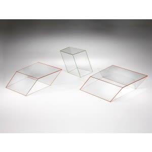 Tavolino Wireframe-Glas italia
