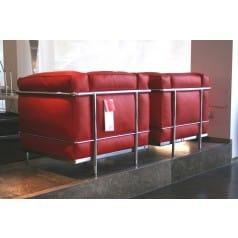 LC2 Pelle Rossa