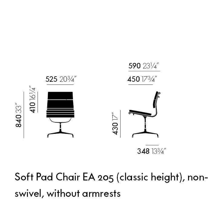 Soft Pad EA 205 (classic height)