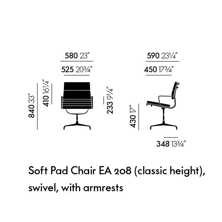 Soft Pad EA 208 (classic height)