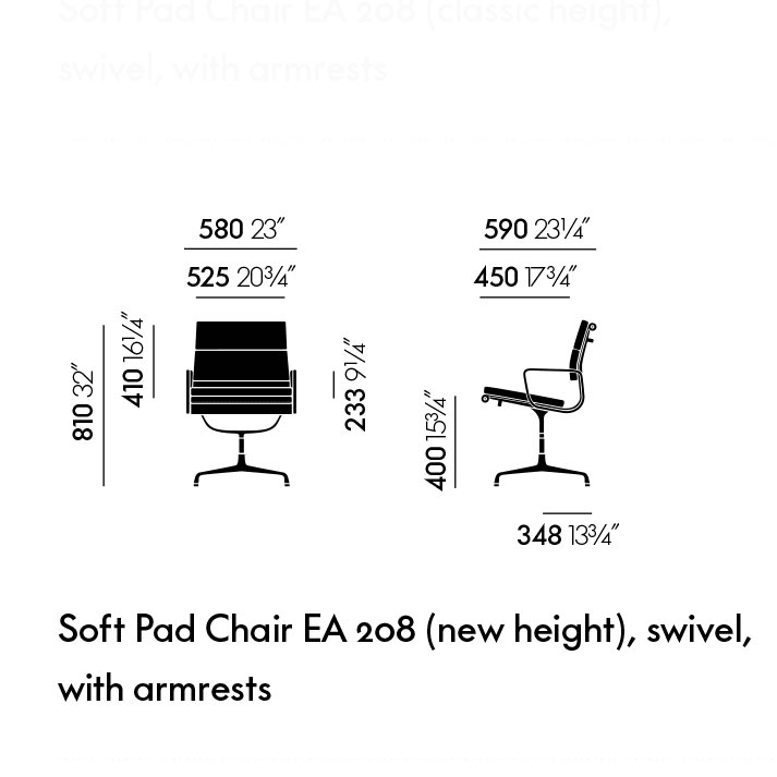 Soft Pad EA 208 (new height)