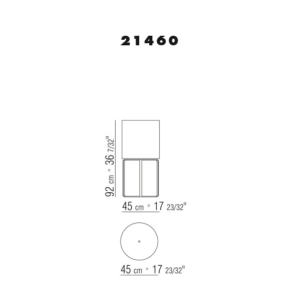 ⌀45 h.92