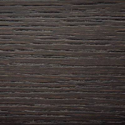 Wengè stained oak