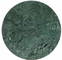 Green marble round 60cm - +$55.11