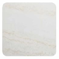 White marble square 65 cm - +$88.17