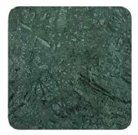 Green marble square 65 cm - +$89.79