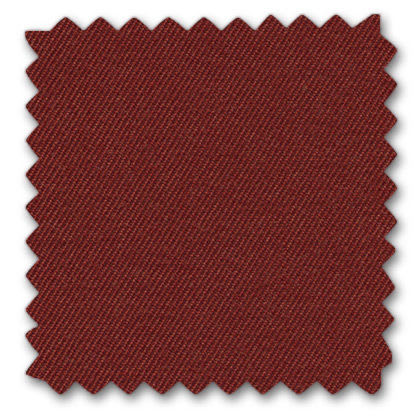 12 dark red twill