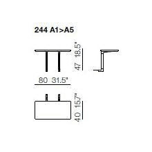 244 A1-A5 Coffe Tables