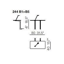 244 B1-B5 Coffe Tables