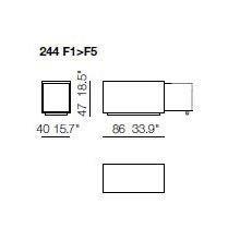 244 F1-F5 - Sideboard